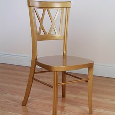 Double X Stackable Side Chair