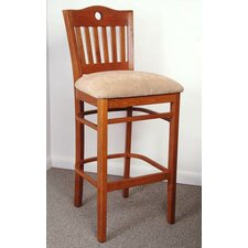<strong>Beechwood Mountain LLC</strong> Beverly Bar Stool with Cushion