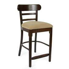 "Luci 24"" Bar Stool with Cushion (Set of 2)"