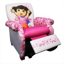 Nickelodeon Dora the Explorer Deluxe Kid's Recliner