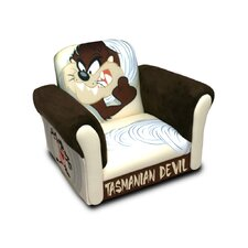 "Warner Brothers ""TAZ"" Tasmanian Devil Deluxe Kid's Rocking Chair"