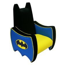 <strong>Harmony Kids</strong> Warner Brothers Batman Icon Kid's Novelty Chair