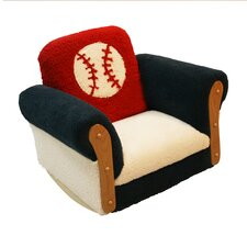 <strong>Harmony Kids</strong> Magical Harmony Baseball Kid's Club Chair