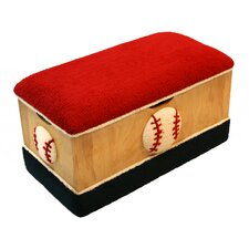 Magical Baseball Wooden Toy Box