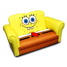 <strong>Harmony Kids</strong> Nickelodeon Sponge Bob Square Pants Deluxe Kid's Rocking Sofa