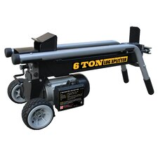 6 Ton Electric Log Splitter