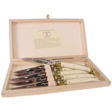 Laguiole 6 Piece Steak Knife Set