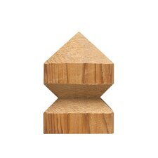 "4"" x 4"" Suburban Pyramid Western Red Cedar Post Cap"