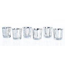 Costa Brava Glass Votive Candle Holder (Set of 6)
