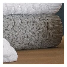 Majorca Squiggle Cable Cotton Throw