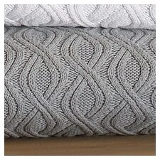 <strong>Peacock Alley</strong> Marbella Wavy Cable Cotton Throw