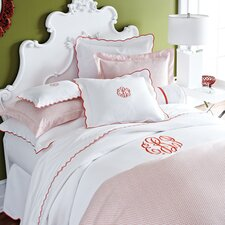 <strong>Peacock Alley</strong> Scalloped Pique Bedding Collection