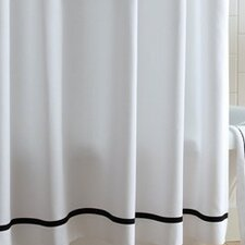 <strong>Peacock Alley</strong> Tailored Pique Cotton Shower Curtain