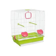 Bird Cage in White
