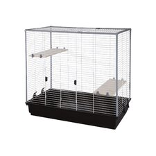 Lorna Chinchilla Cage in White