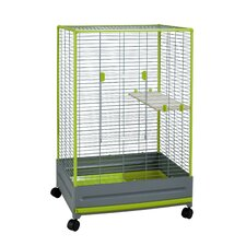 Thekli Chinchilla Cage in White
