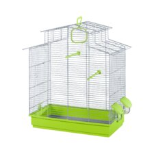 Phoebe Bird Cage in Grey