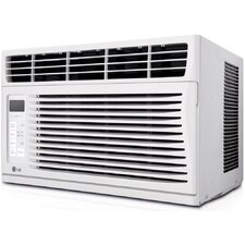 6,000 BTU Window-Mounted Air Conditioner with Remote