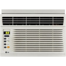 <strong>LG</strong> 6000 BTU Energy Efficient Window-Mounted Air Conditioner with Remote