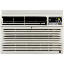 8000 BTU Energy Efficient Window-Mounted Air Conditioner with Remote