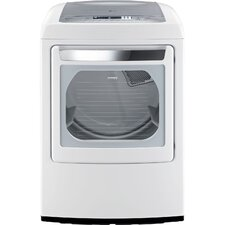 <strong>LG</strong> 7.3 Cu. Ft. Ultra Large Capacity Front Control Electric SteamDryer with Sensor Dry