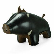 Babu the Boar Bookend