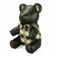 Classic Flower Bear Book End