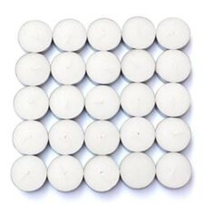 <strong>Zest Candle</strong> Vanilla Scented Tealight Candles (Set of 50)
