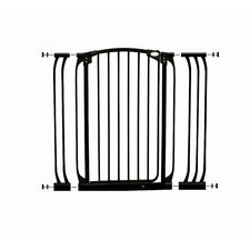 Extra-Tall Swing Close Security Gate with Extensions