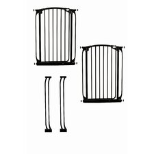 Extra-Tall Swing Close Security Gate Value Pack
