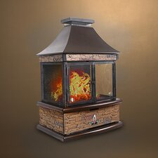 Lorenzo Fire Pit Table Propane Patio Heater