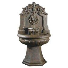 Copper Lion Head Outdoor/Indoor Water Fountain