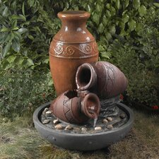 <strong>Fountain Cellar</strong> Pots Outdoor Water Fountain