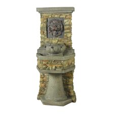 Lion Head Outdoor/Indoor Water Fountain
