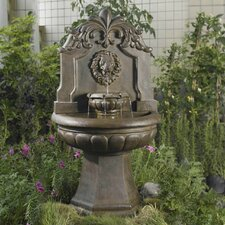 Copper Lion Head Outdoor/Indoor Water Fountain
