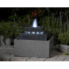 Polyresin and Fiberglass Tiered Fountain