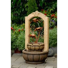 Polyresin and Fiberglass Tiered Classical Fountain