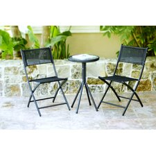 <strong>Wicker Lane</strong> 3 Piece Bistro Dining Set