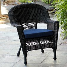 <strong>Wicker Lane</strong> Lounge Chair with Cushion