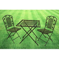 Amelie Series 3 Piece Bistro Set