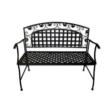 Amelie Series Metal Garden Bench