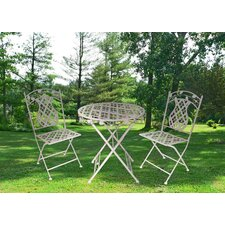 Rosa Series 3 Piece Bistro Set