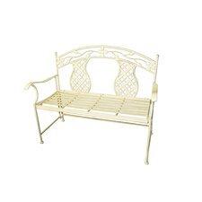 Rosa Series Metal Garden Bench