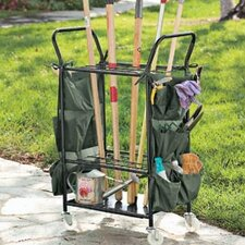 Garden Tool Caddy with Casters