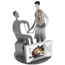 <strong>H & K SCULPTURES</strong> Doctor Sculpture Business Card Holder