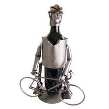 Bicycle Rider Male Wine Bottle Holder