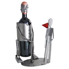 <strong>H & K SCULPTURES</strong> Golf Putting with Caddy Wine Caddy