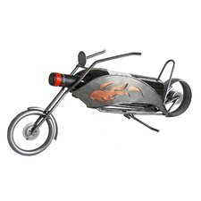 Motorcycle-Chopper Wine Caddy