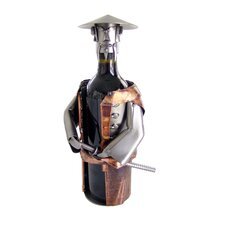 <strong>H & K SCULPTURES</strong> Samurai Wine Caddy