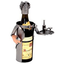 <strong>H & K SCULPTURES</strong> Waiter Wine Caddy